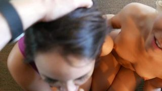 Bryci – Aaliyah Love Pops our Cherry (our first threesome!)